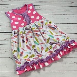 Boutique Style Girls Dress